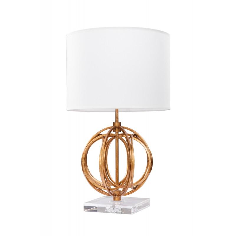 Lampe de table design et rétro GLORIA (or) - image 41137