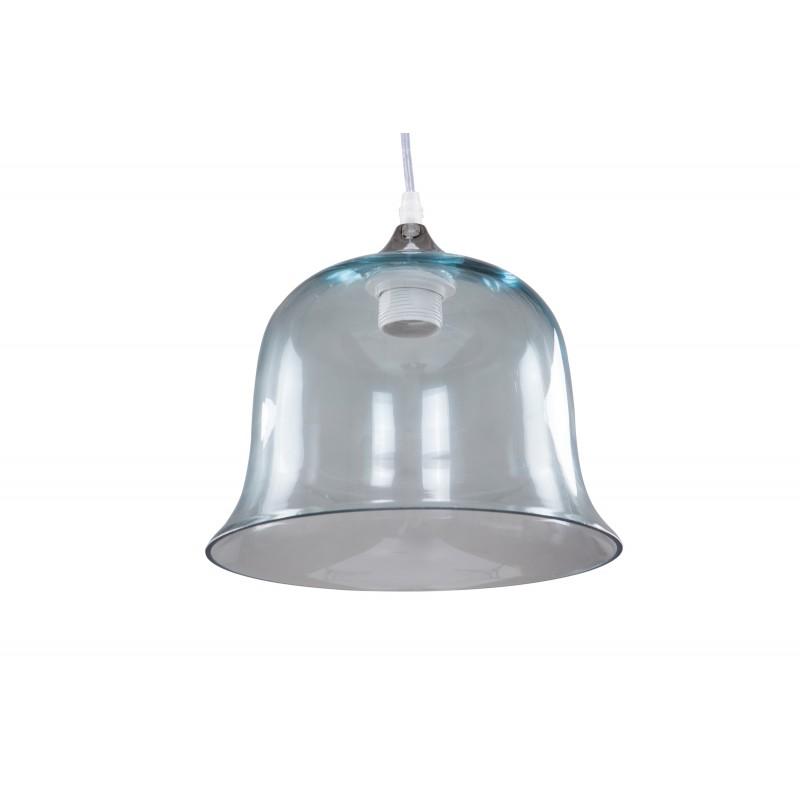 Design hängen H 24,5 cm Ø 24,5 cm Glaslampe KELLY (blau) - image 41146