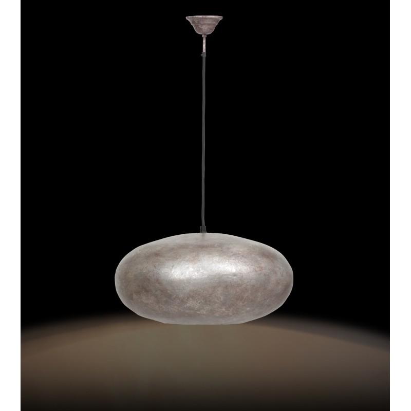 Industrial sospensione metallo H 20 cm Ø 40 cm KIARA (bronzo) - image 41217