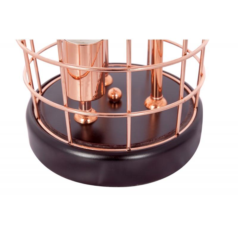 Lampe de table cloche en métal cuivré LEXA (cuivre) - image 41267