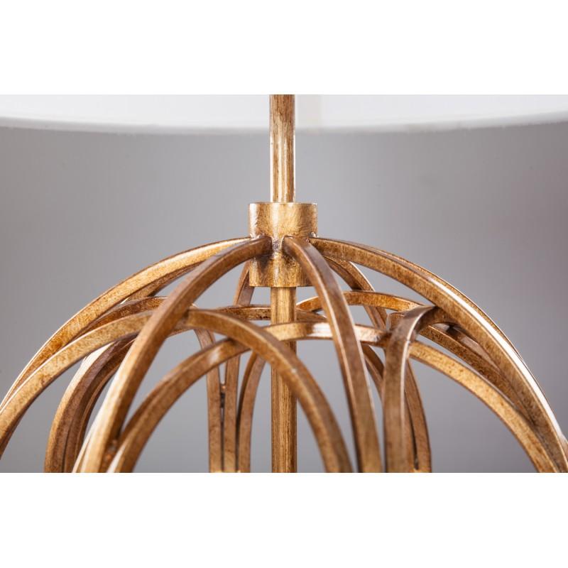 Lampe de table design et rétro GLORIA (or) - image 41269