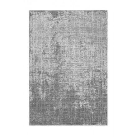 Orientteppich rechteckige BASTIA gewebte Maschine (grau)