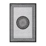 Oriental rug rectangular MEKNES woven machine (grey)