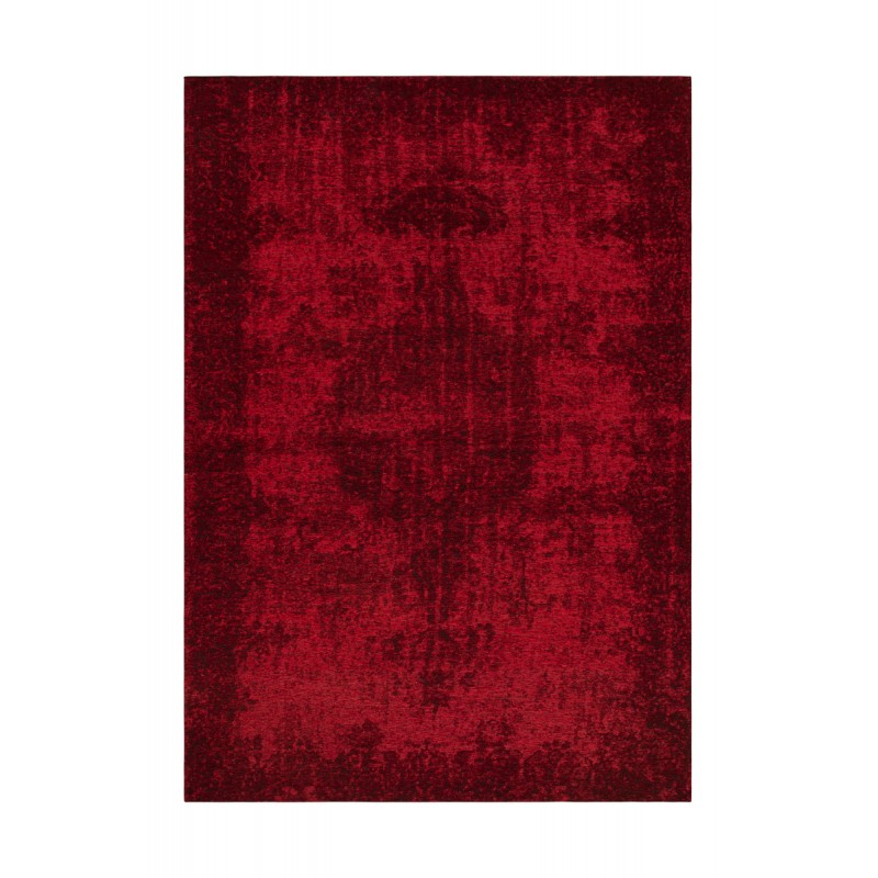 Vintage rectangular ROULY carpet woven to the machine (Bordeaux) - image 41419