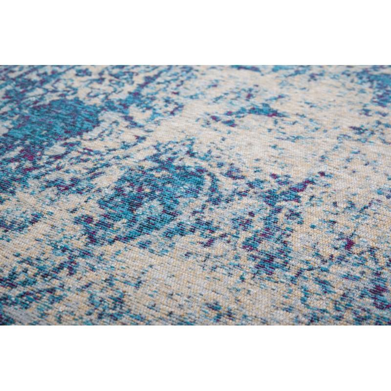 Tapis vintage PORTLAND rectangulaire tissé à la machine (Bleu turquoise) - image 41437