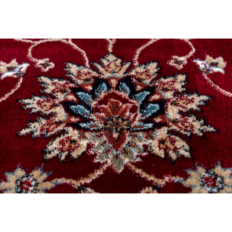 Oriental rug rectangular OUJDA woven machine (red) - image 41458