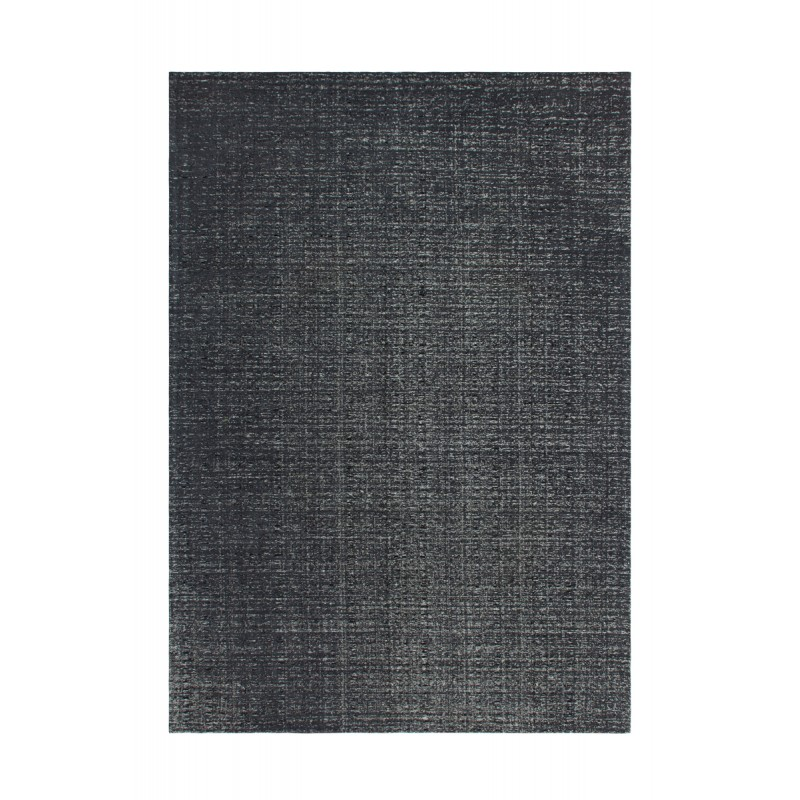 Tapis design et contemporain CAMBODGE rectangulaire fait main (Gris) - image 41463