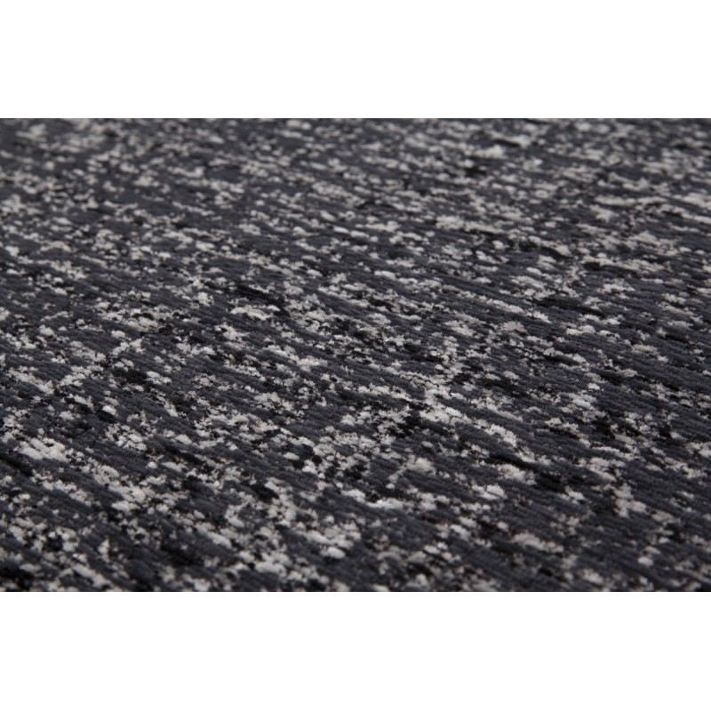 Tapis design et contemporain CAMBODGE rectangulaire fait main (Gris) - image 41465
