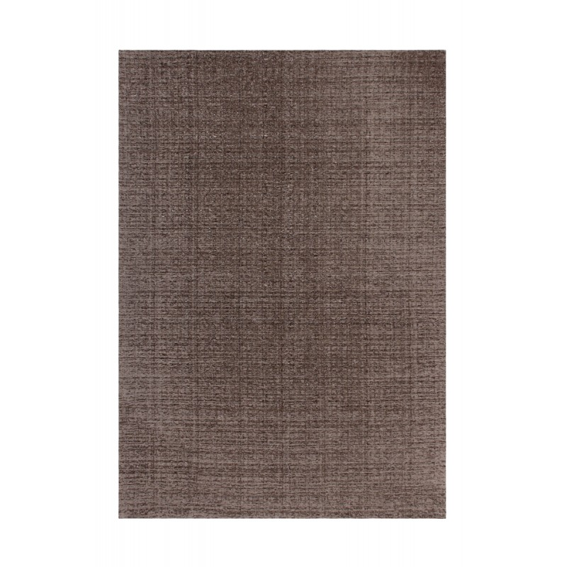 Tapis design et contemporain CAMBODGE rectangulaire fait main (Taupe) - image 41467