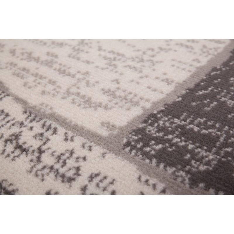 Tapis design et contemporain OKLAHOMA rectangulaire tissé à la machine (Beige ) - image 41473