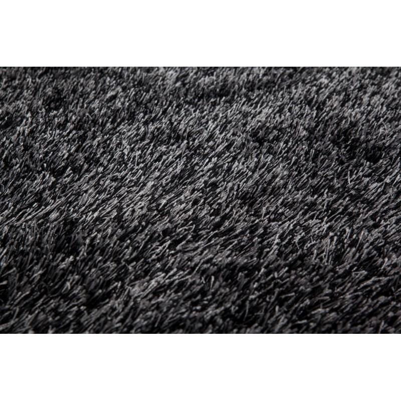 Tapis design et contemporain MIAMI rectangulaire fait main (Gris anthracite) - image 41503
