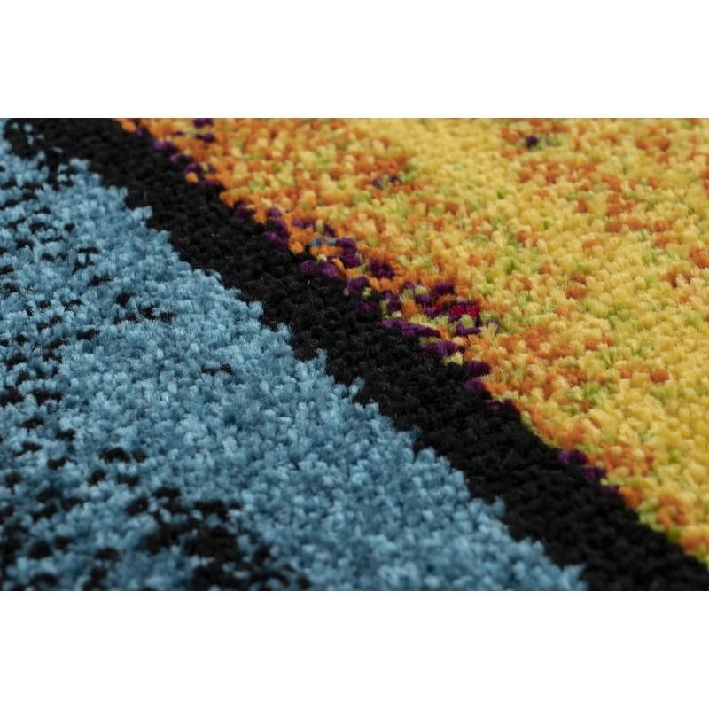Tapis design et contemporain SANPA rectangulaire tissé à la machine (Multicolore) - image 41580
