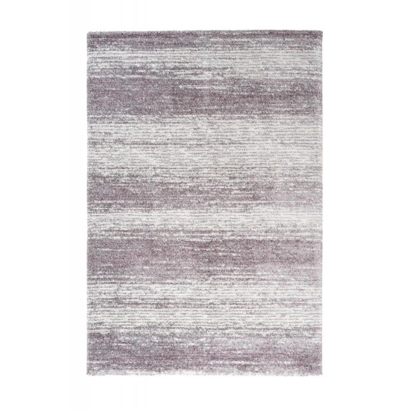 Tapis vintage PALERME rectangulaire tissé à la machine (Violet) - image 41615