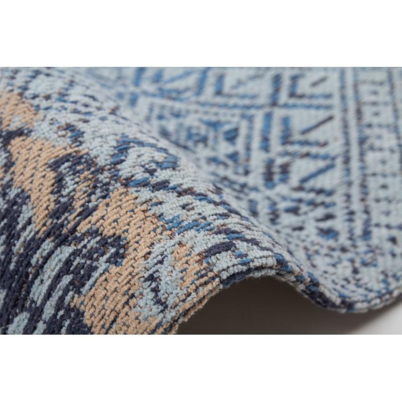 Carpet jaquard made rectangular MARSALA hand (blue) - image 41620