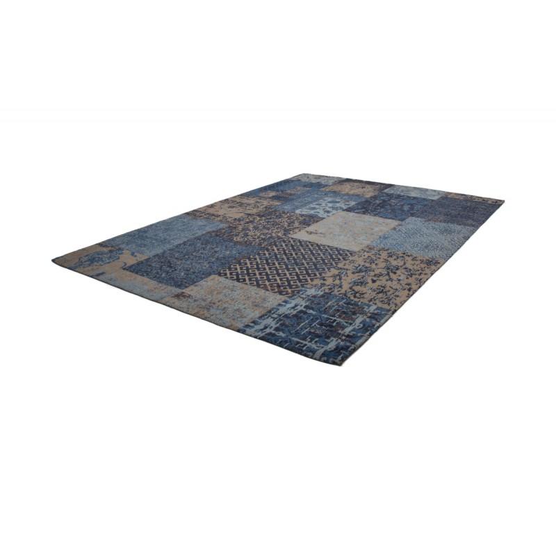 Carpet jaquard made rectangular MARSALA hand (blue) - image 41621