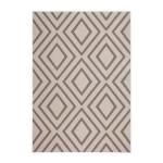 Rectangulares alfombras gráfico AUGUSTA tejidos por la máquina (topo)