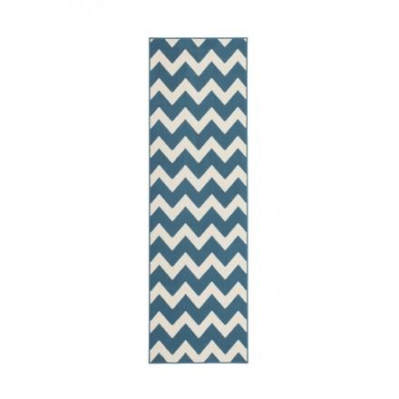 grafischen teppich rechteckig licata gewebt maschine t rkis elfenbein. Black Bedroom Furniture Sets. Home Design Ideas