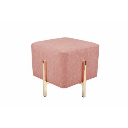 Pouf da design ELONA (oro rosa)
