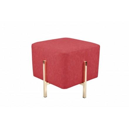 Pouf da design ELONA (oro rosso)