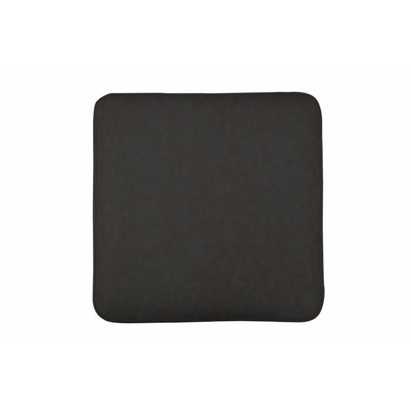Pouf design ELONA (Noir gris doré) - image 41985