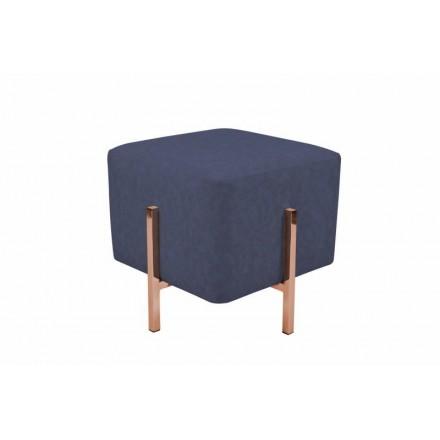 Hocker Design LYSON (blaue Kupfer)