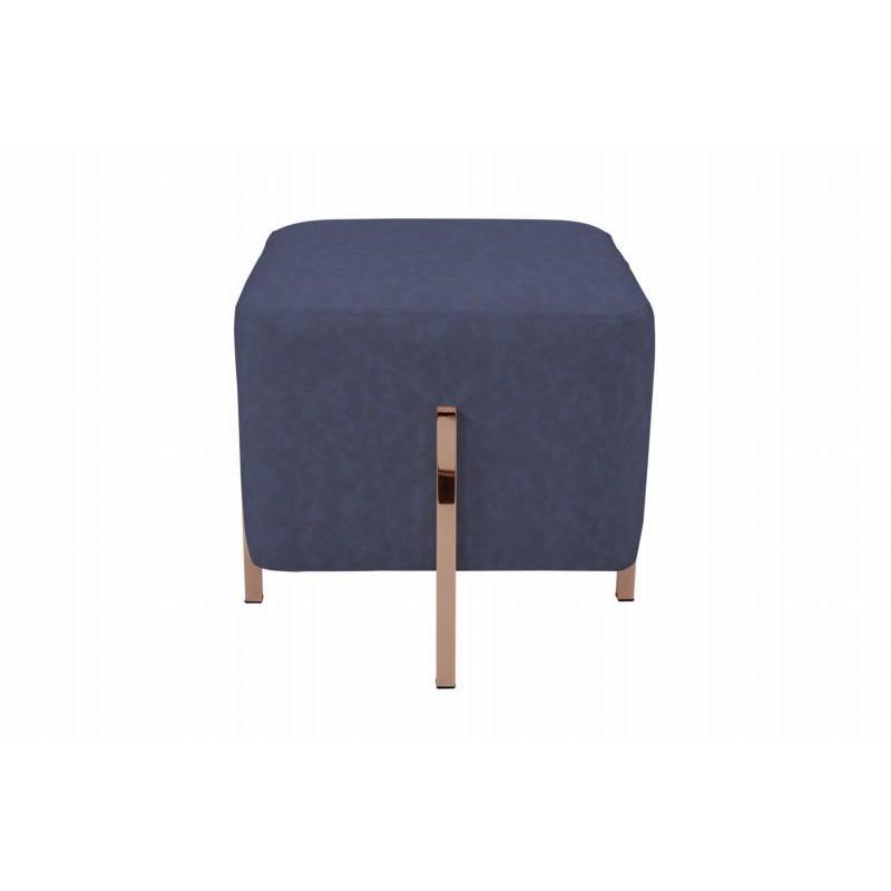 Pouf design LYSON (Bleu cuivre) - image 41991
