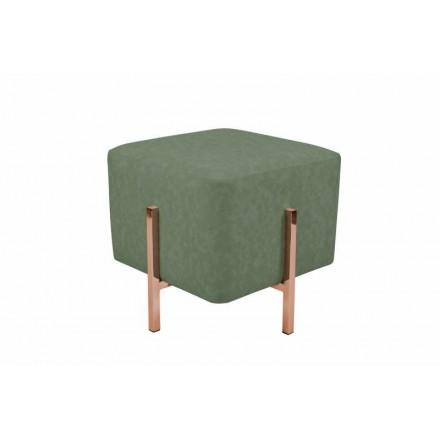 Pouf design LYSON (Vert cuivre)