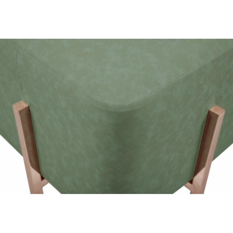 Pouf design LYSON (Vert cuivre) - image 41994
