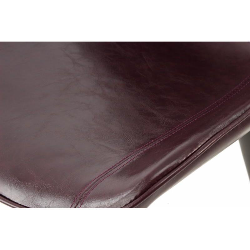 Lot de 2 chaises rétro matelassées EUGENIE (Violet) - image 42010