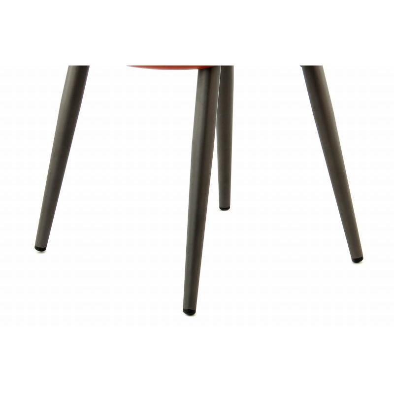 Lot de 2 chaises rétro matelassées EUGENIE (Marron) - image 42025