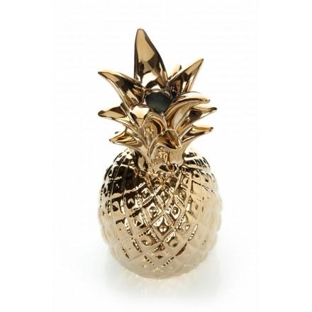 Ornamento di lampadario ananas (oro)