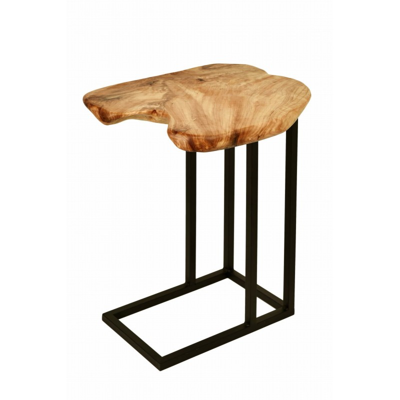 Beistelltisch, reich an Metall und Holz der Zeder (natürlichen) Kabelbaum - image 42738
