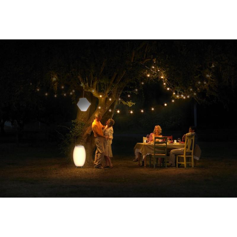 Lamp LED bucket champagne pregnant speaker bluetooth KOODUU synergy 65PRO (white) - image 42829