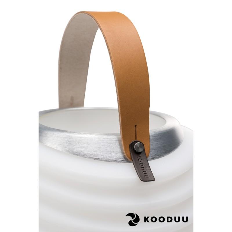 Lámpara LED Cubo champán embarazada altavoz bluetooth KOODUU sinergia 50PRO (blanco) - image 42855