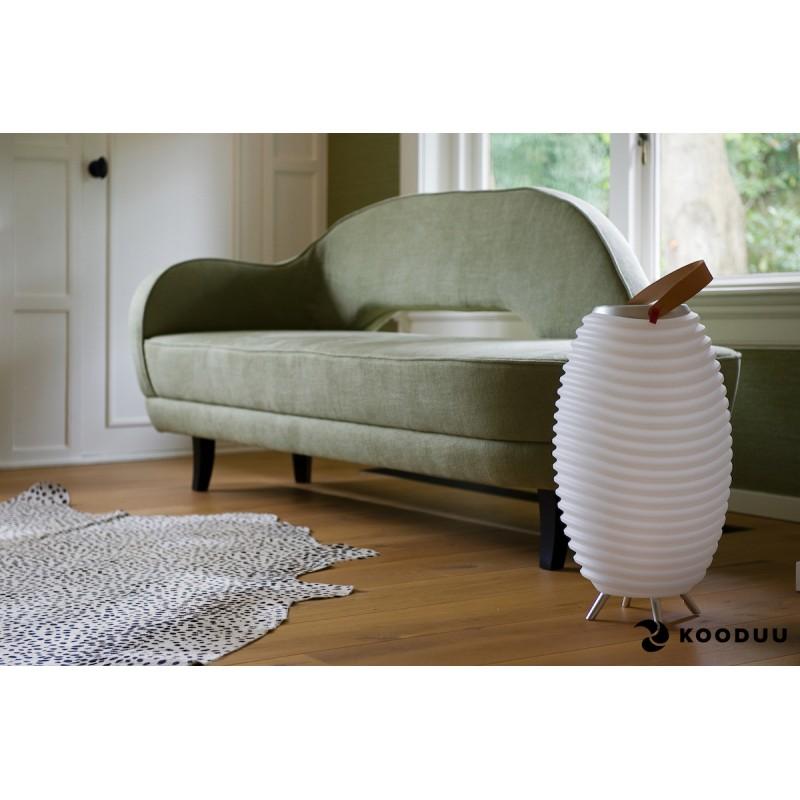 Lamp LED bucket champagne pregnant speaker bluetooth KOODUU synergy 65PRO (white) - image 42869