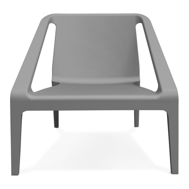 Fauteuil de jardin relax design SUNY (gris foncé) - image 42908