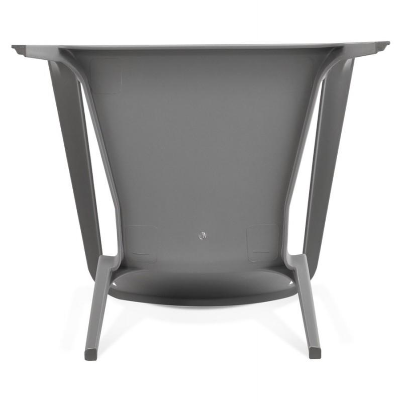 Fauteuil de jardin relax design SUNY (gris foncé) - image 42915