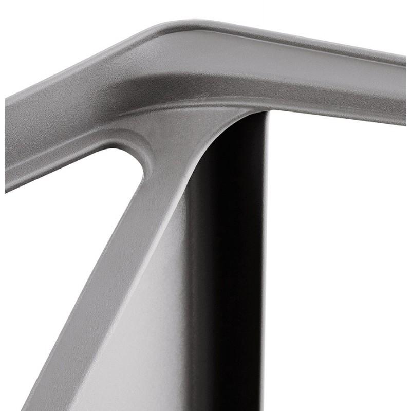 Fauteuil de jardin relax design SUNY (gris foncé) - image 42917