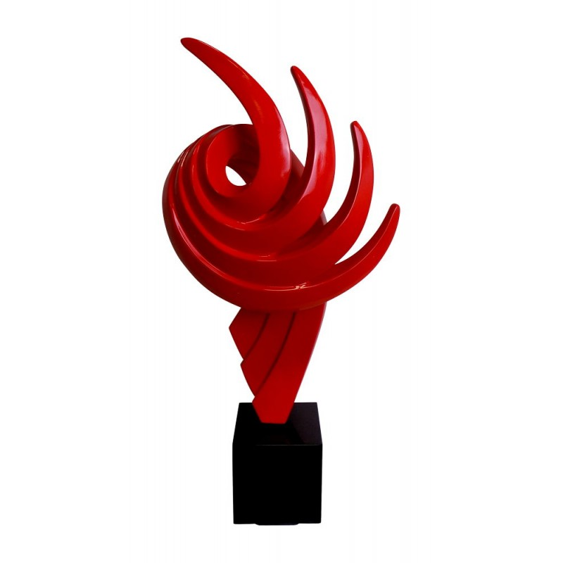 Statue decorative sculpture design pregnant Bluetooth THE PASTING in resin (Red) - image 43016