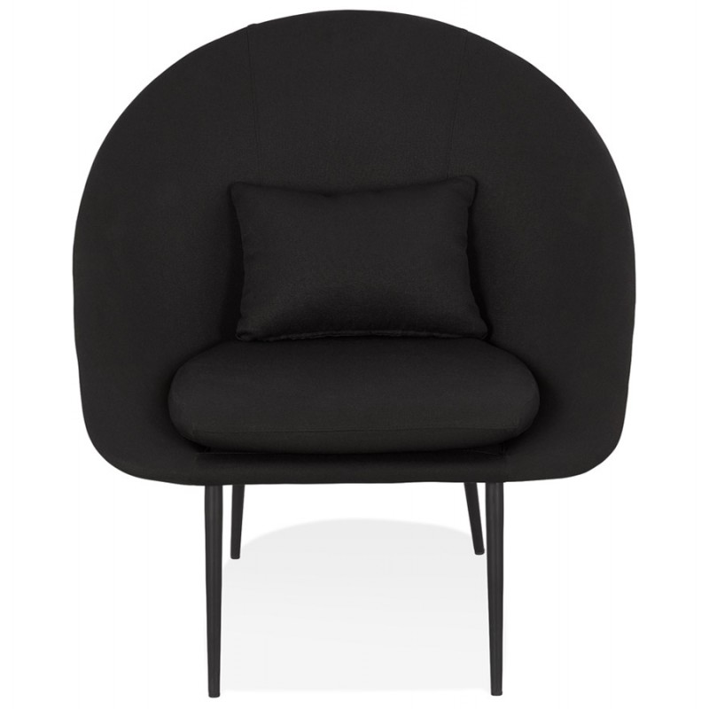 GOYAVE lounge chair in fabric (black) - image 43644