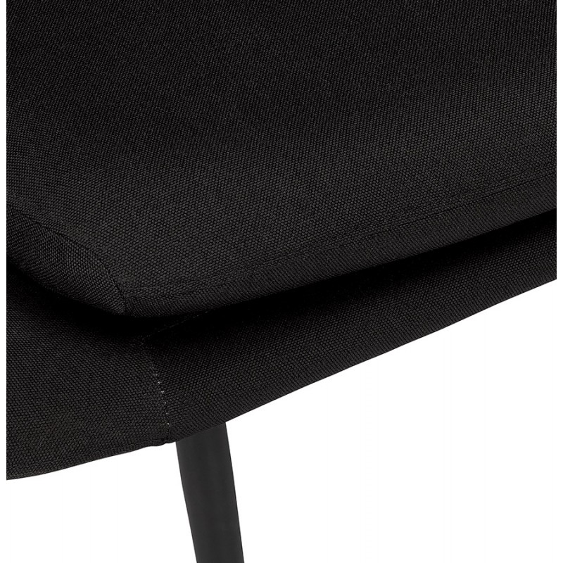 GOYAVE lounge chair in fabric (black) - image 43649