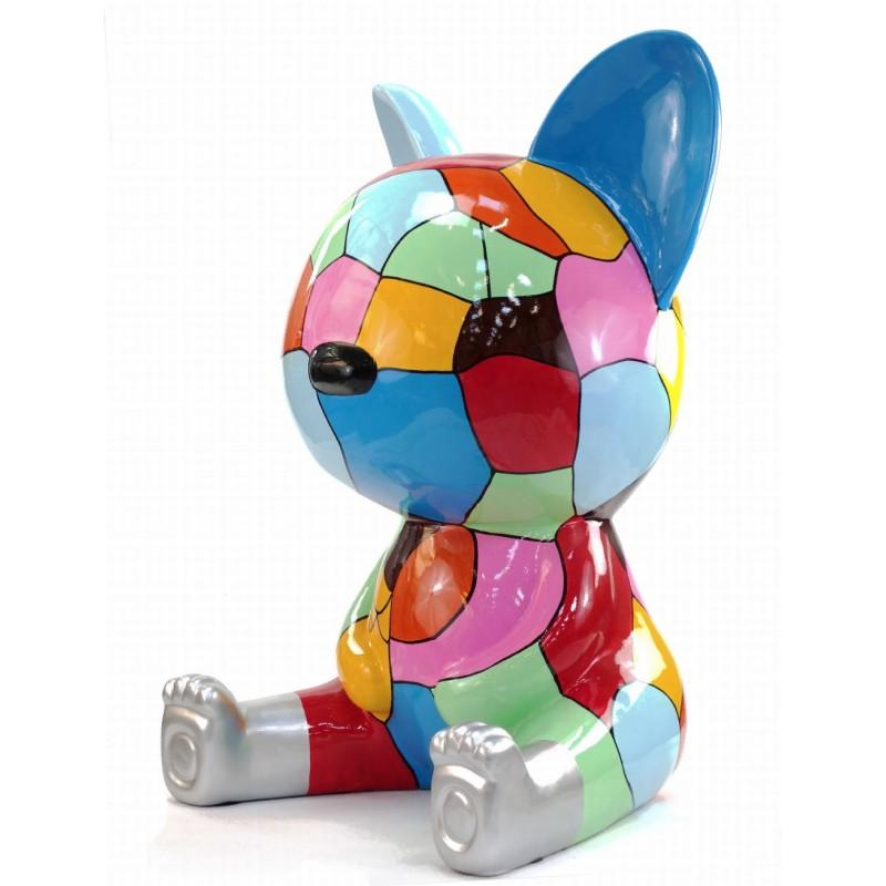 Diseño de escultura decorativa de la estatua CHAT ASSIS POP ART en resina H100 cm (Multicolor) - image 43773