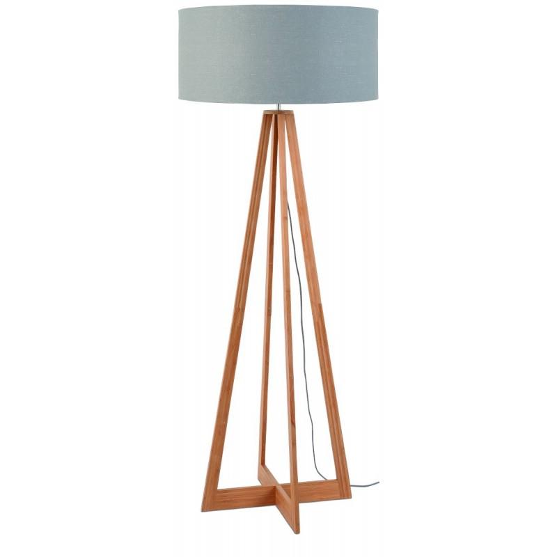 EverEST lampada di lino verde (naturale, grigio chiaro)