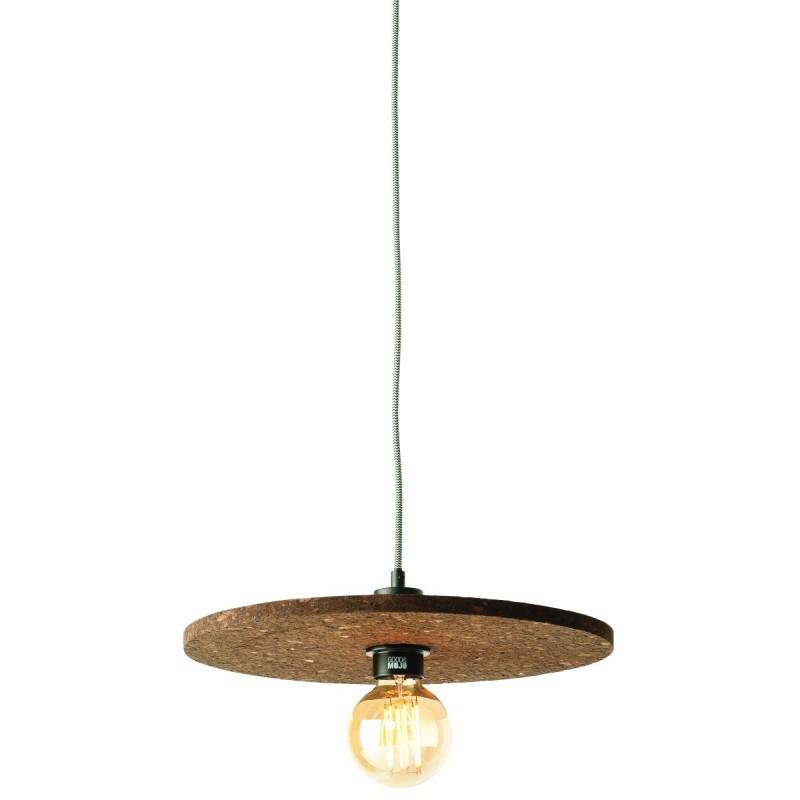 Lampe à suspension en liège ALGARVE (naturel)