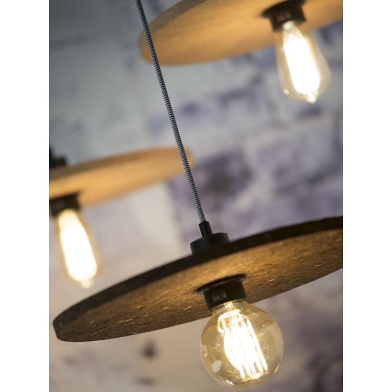 Lampe à suspension en liège ALGARVE (naturel) - image 44994