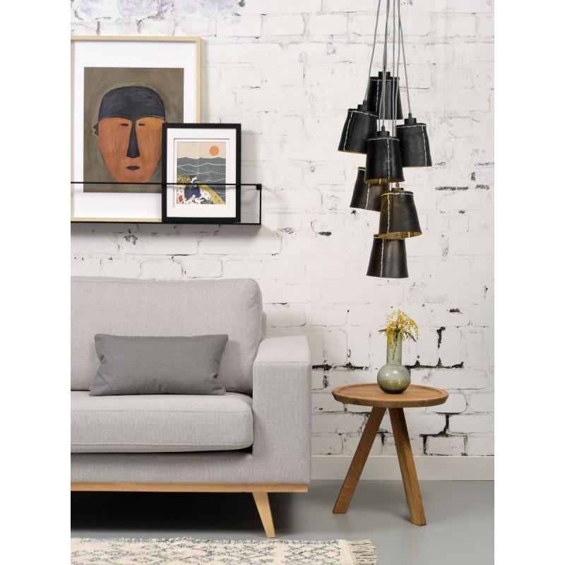 Amazon SMALL 7 paralume lampada pneumatici riciclati (nero) - image 45029