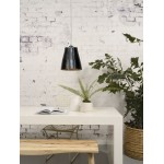 AMAZON XL 1 recycled tire suspension lamp shade (black)