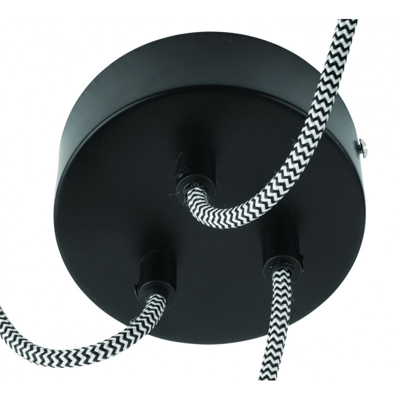 Amazon XL 3 paralume lampada pneumatici riciclati (nero) - image 45046