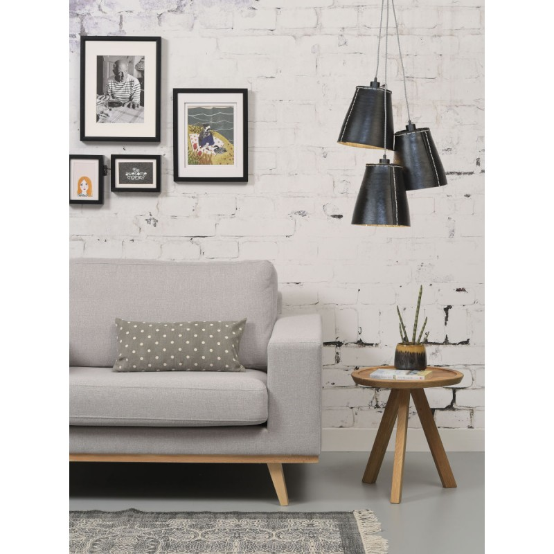 Amazon XL 3 paralume lampada pneumatici riciclati (nero) - image 45050