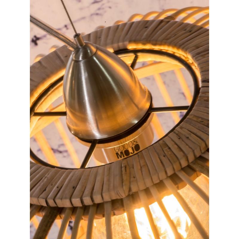 Lámpara de suspensión de bambú BORNEO SMALL (natural) - image 45057